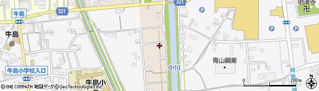 埼玉県春日部市新川78周辺の地図