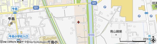 埼玉県春日部市新川83周辺の地図