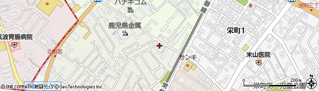 吉羽とうふ店周辺の地図