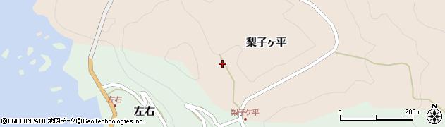 福井県丹生郡越前町梨子ヶ平周辺の地図
