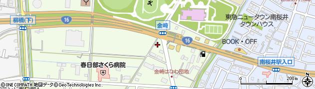 埼玉県春日部市金崎656の地図 住所一覧検索|地図マピオン