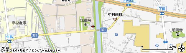 埼玉県春日部市新川112周辺の地図