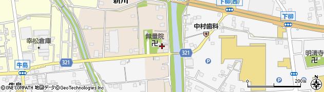埼玉県春日部市新川107周辺の地図