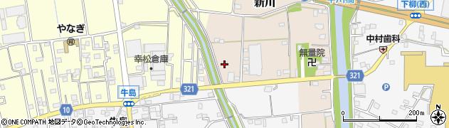 埼玉県春日部市新川160周辺の地図