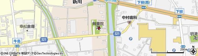 埼玉県春日部市新川120周辺の地図