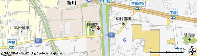 埼玉県春日部市新川113周辺の地図