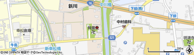 埼玉県春日部市新川118周辺の地図