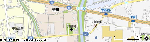 埼玉県春日部市新川217周辺の地図