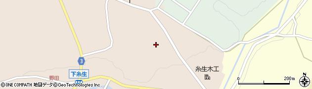 福井県丹生郡越前町下糸生葛野周辺の地図