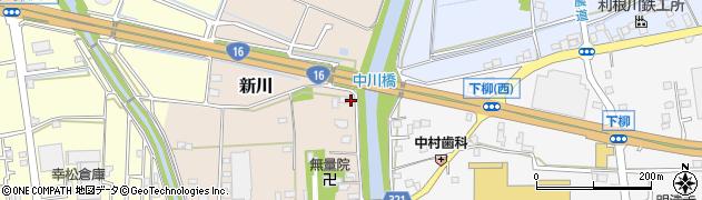 埼玉県春日部市新川236周辺の地図
