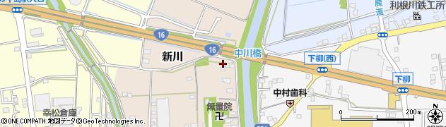 埼玉県春日部市新川235周辺の地図
