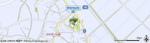 富蔵院周辺の地図
