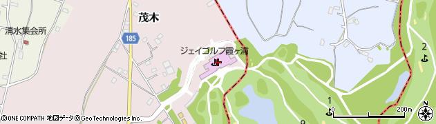 ジェイゴルフ霞ケ浦コース管理周辺の地図