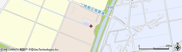 埼玉県春日部市新川335周辺の地図