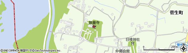 無量寺周辺の地図