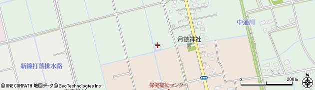 下長沼ライスセンター周辺の地図