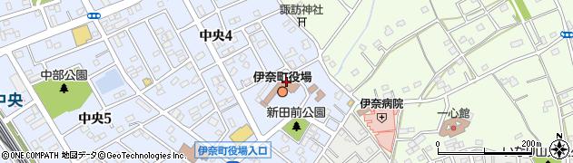埼玉県北足立郡伊奈町周辺の地図
