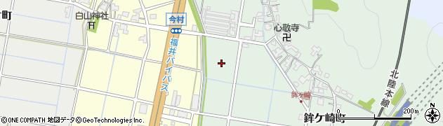 福井県福井市鉾ケ崎町周辺の地図