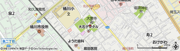 大雲禅寺周辺の地図