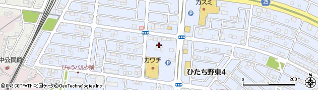 うしく住宅展示場センターハウス周辺の地図