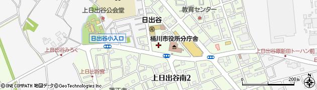 埼玉県桶川市周辺の地図