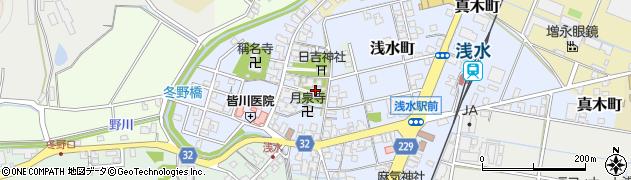 東称名寺周辺の地図