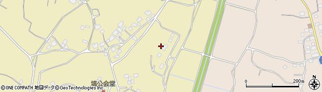 茨城県阿見町(稲敷郡)塙周辺の地図