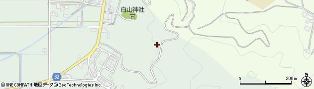 福井県福井市栃泉町周辺の地図