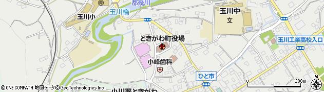 埼玉県比企郡ときがわ町周辺の地図
