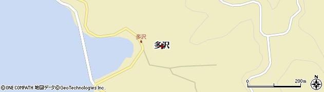 島根県知夫村(隠岐郡)多沢周辺の地図
