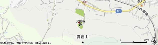 光明寺周辺の地図