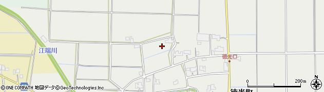 福井県福井市徳光町周辺の地図