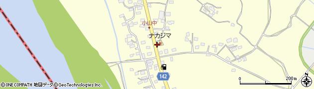 ナカジマ周辺の地図