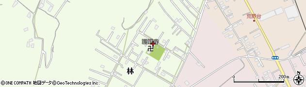 慰霊観音周辺の地図