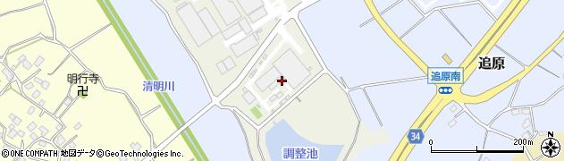 日本ポール株式会社 筑波工場周辺の地図