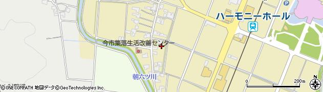 福井県福井市今市町周辺の地図