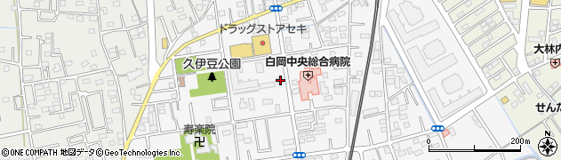 埼玉県白岡市小久喜933 住所一覧から地図を検索
