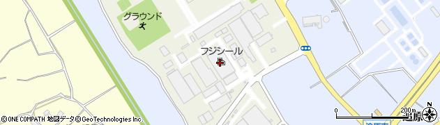 株式会社フジシール 筑波工場周辺の地図