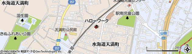 茨城労働局 常総公共職業安定所、ハローワーク常総周辺の地図