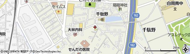 セブンイレブン白岡千駄野店周辺の地図