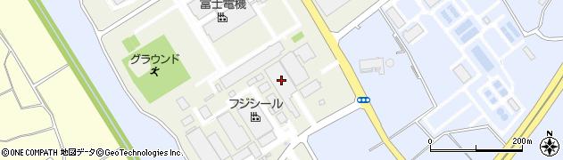 ピジョン株式会社 筑波事業所周辺の地図