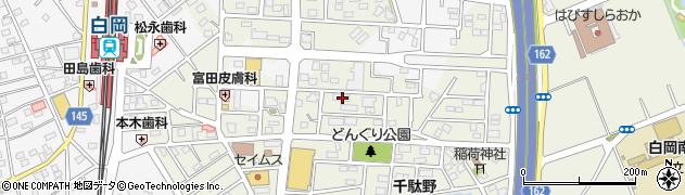 埼玉県白岡市千駄野727周辺の地図