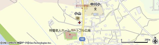 小山自動車店周辺の地図