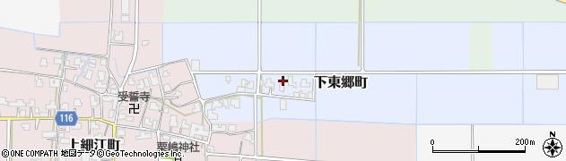 福井県福井市下東郷町(新村)周辺の地図