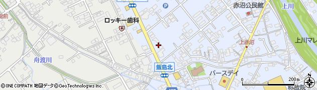 長野県諏訪市四賀周辺の地図