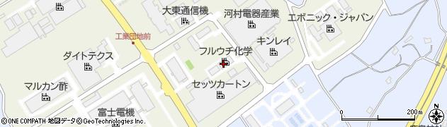 フルウチ化学株式会社周辺の地図