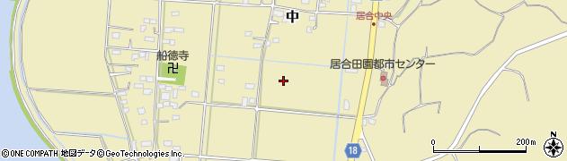 茨城県鹿嶋市中周辺の地図