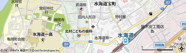 北浦電機商会周辺の地図