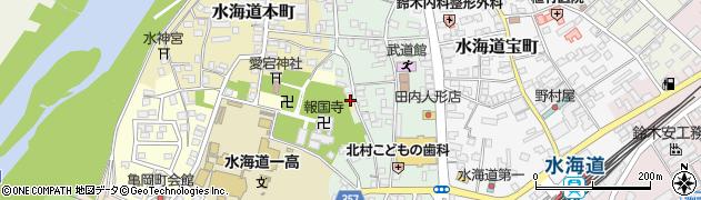 茨城県常総市水海道本町2640周辺の地図