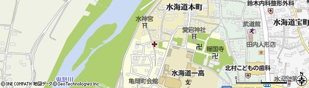 茨城県常総市水海道本町2550周辺の地図